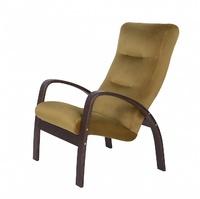 Кресло ЛАДОГА 2, каркас ОРЕХ, ткань ПРЕМЬЕР 08, бежевый
