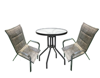 """Набор мебели """"Сан-Ремо Мини"""" мягкий (2 стула+стол ø600мм)"""