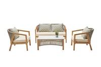 Набор мебели  Бордо (1 стол+2 кресла+1 диван)