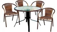 """Набор мебели """"Марсель"""" 4 стула + стол"""
