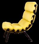 Кресло ЕССЕЙ, каркас ВИШНЯ, Ткань ИЗУМРУДНЫЙ