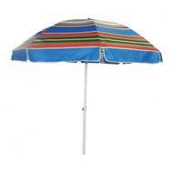 Зонт 2,4м разноцветный ПЛОТНАЯ ТКАНЬ